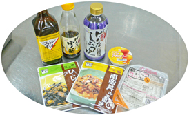 ■調理に使われたキッセイ薬品工業の製品