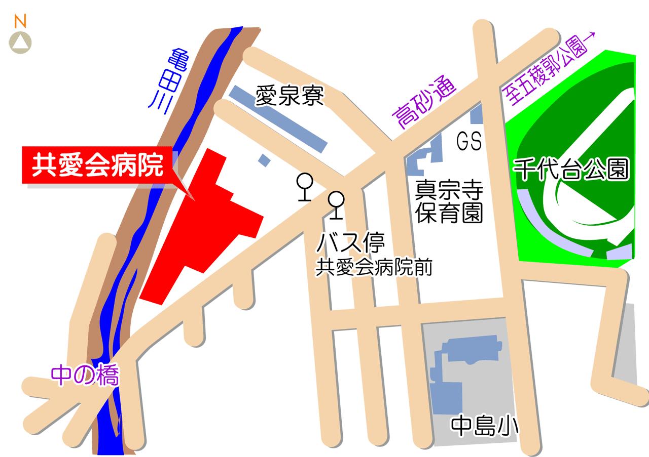 共愛会 病院 函館